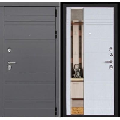 Входная дверь Новелло Альберо браш (Зеркало)