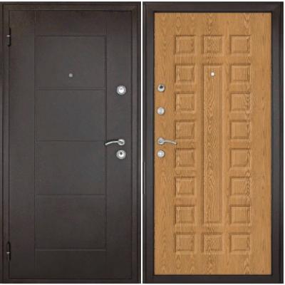 Дверь Квадро Дуб золотой