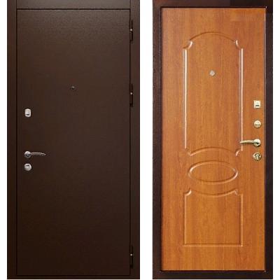 Металлическая дверь Райтвер К-7 Орех