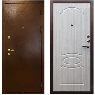 Металлическая дверь Райтвер К-7 Беленый дуб