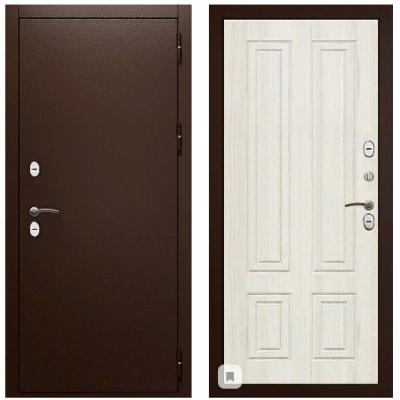 Металлическая дверь Райтвер Термо К Беленый дуб