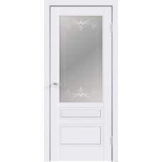 Межкомнатная дверь Scandi 3V, белый RAL 9003